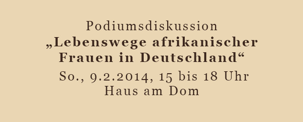 Lebenswege afrikanischer Frauen in Deutschland