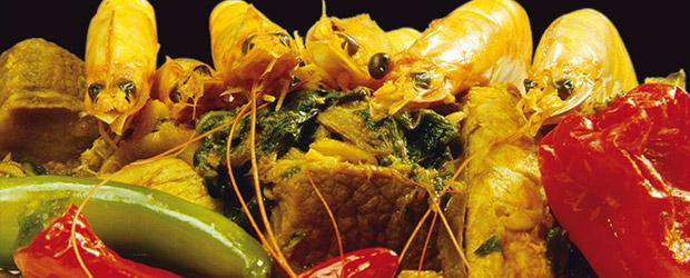 Kochen und Essen wie in Afrika