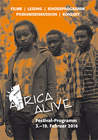 Programmheft Africa Alive 2016 // Cover