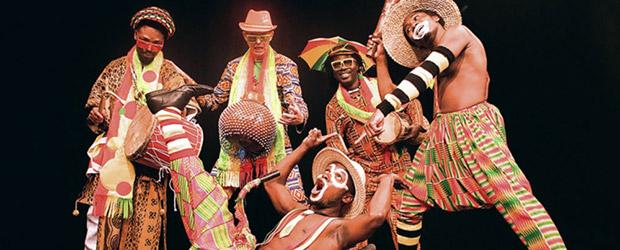 Kinderfest: ADESA - Afrikanische Clownshow