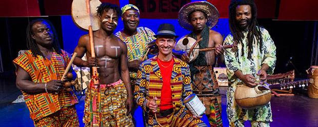 eutsch-ghanaische Ensemble ADESA